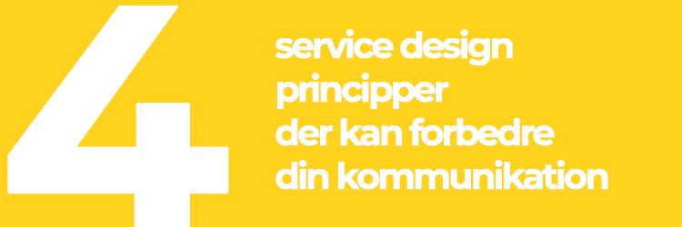 Fire service design principper der kan forbedre din kommunikation