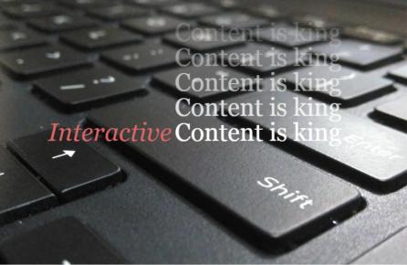 Interaktivt indhold
