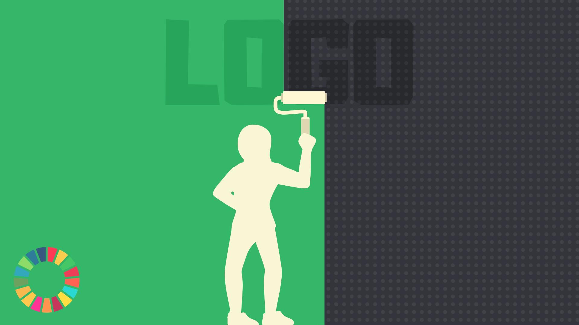 Illustration til artiklen 'Greenwashing - når grøn bliver det nye sort'