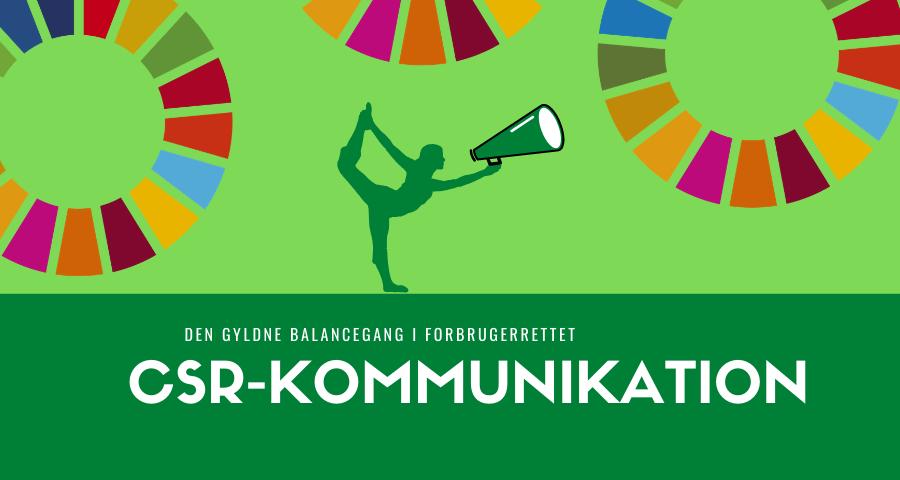CSR kommunikation billede - viser en linedanser balancere mellem verdensmålene