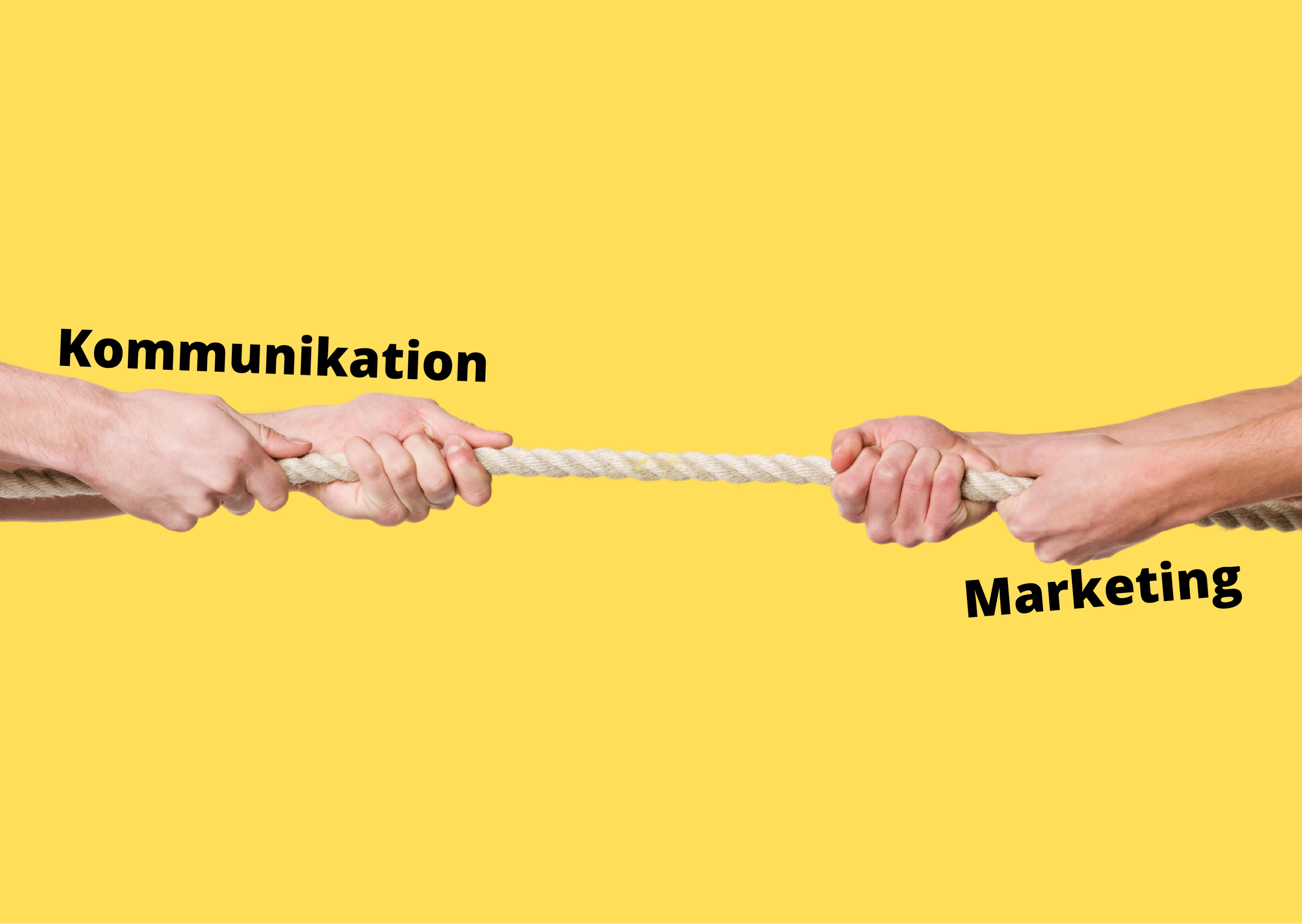 Tovtrækning mellem kommunikation og marketing